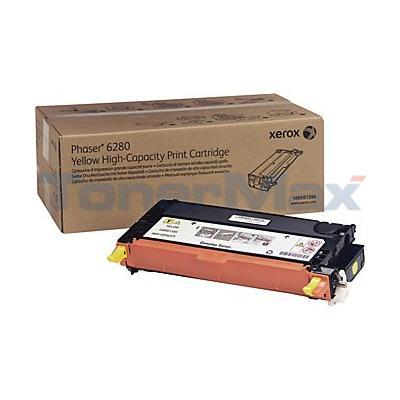 XEROX PHASER 6280 PRINT CARTRIDGE YELLOW 5.9K